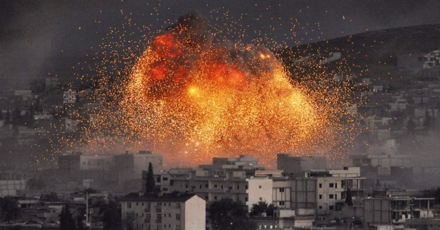 Bombardeo Guerra Siria