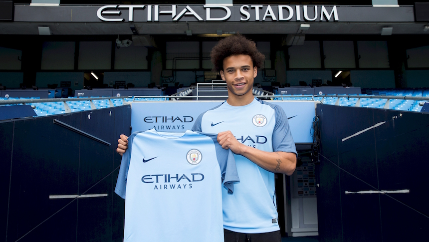 Image result for leroy sane man city