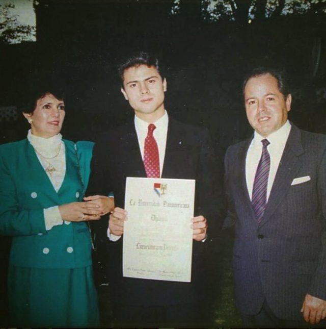 Enrique Peña Nieto - Graduación - Instagram.