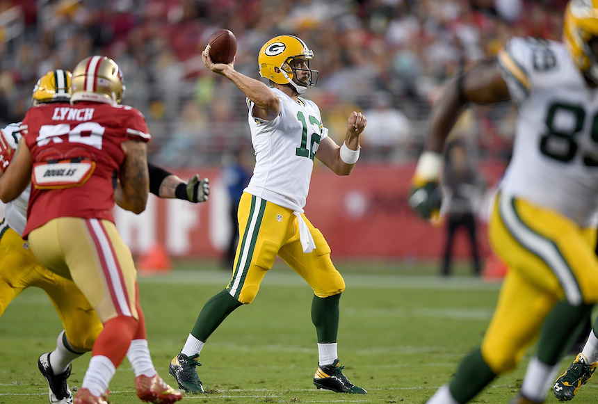 Aaron Rodgers, QB de los Packers