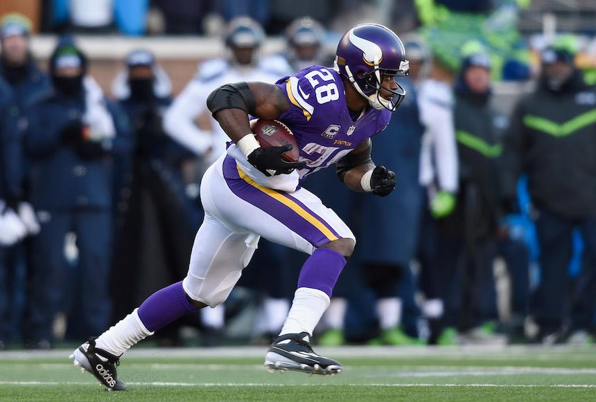 Adrian Peterson, corredor de los Vikings
