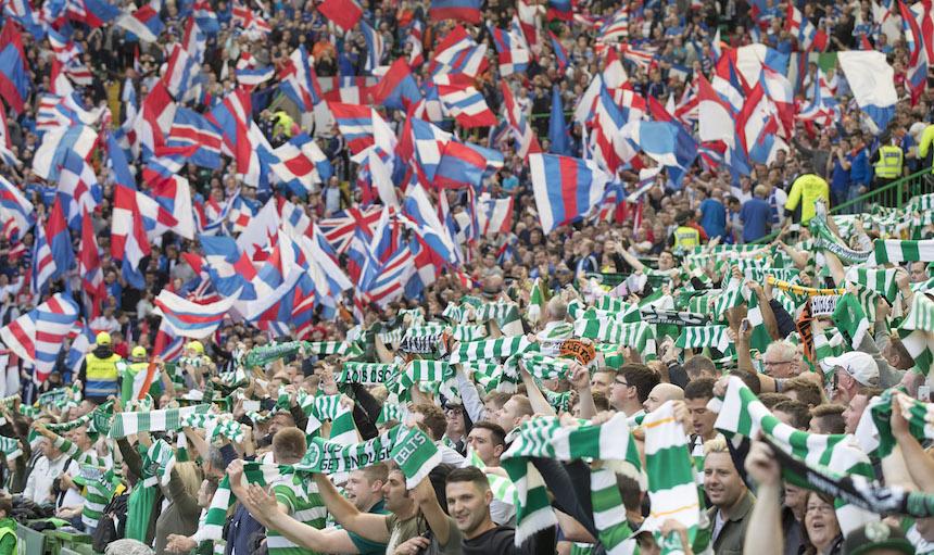 La rivalidad entre el Celtic y el Rangers regresó el día de ayer, después de cuatro años