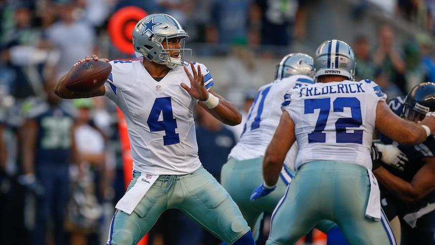 Dak Prescott tiene la obligación de guiar a Dallas los Cowboys