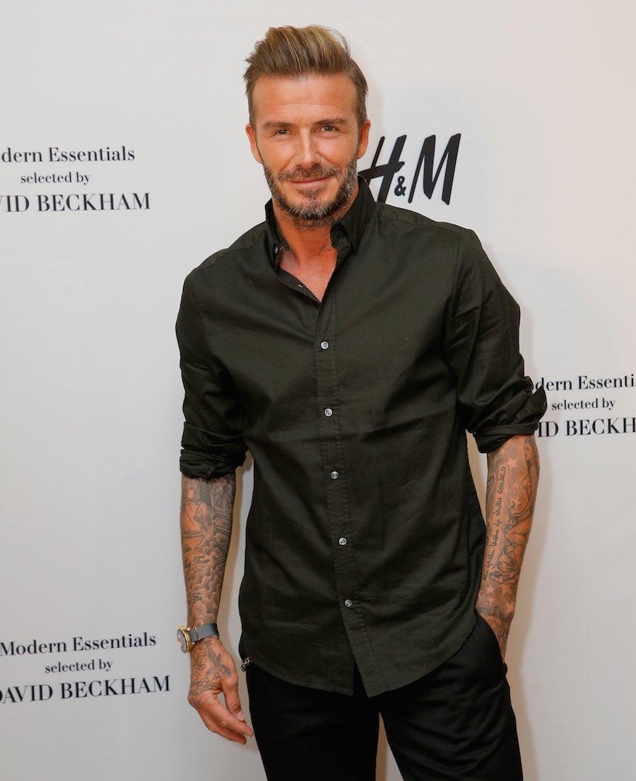 Futbolista David Beckham