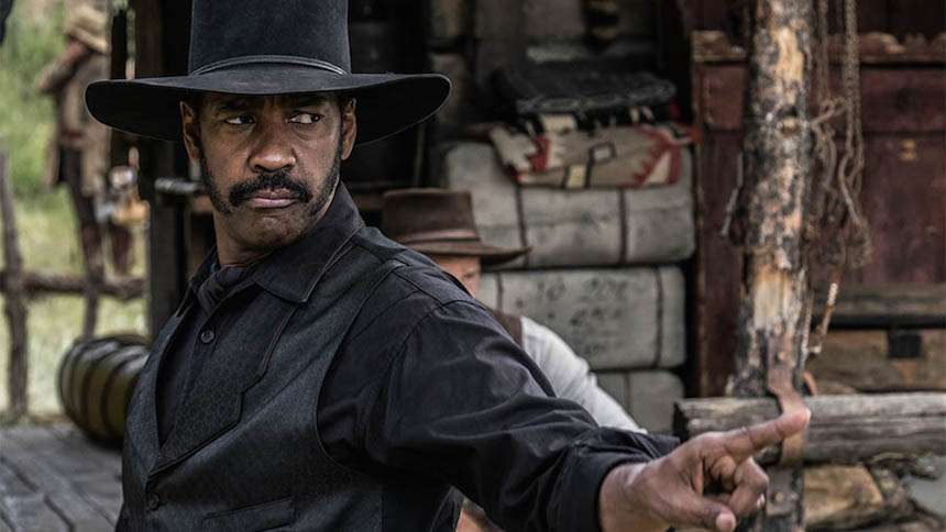 Denzel Washington Los Siete Magníficos