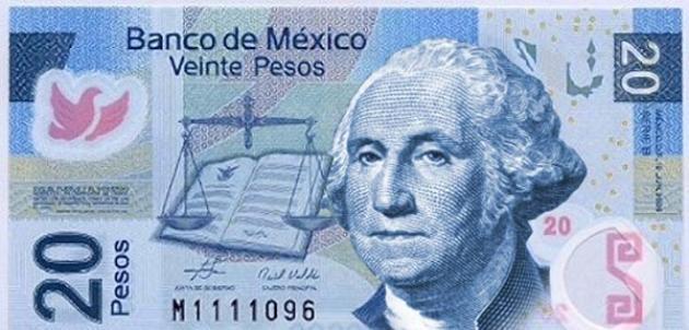 dolar-billete-20-pesos-benito-juarez-washington