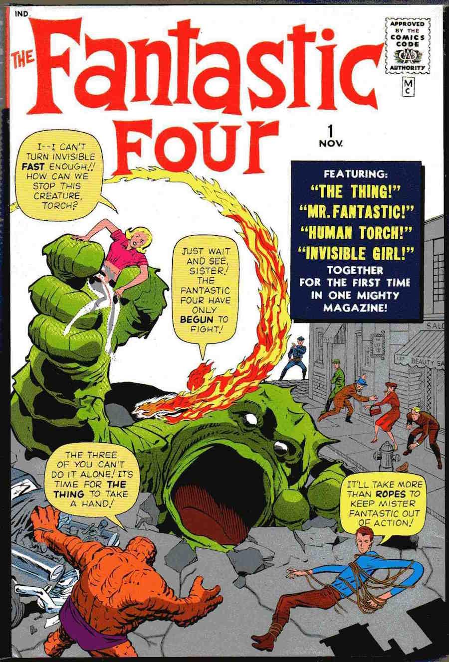 Fantastic 4 - Primer número