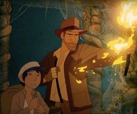 Cortometraje animado de Indiana Jones