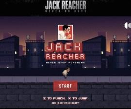 Jack Reacher Never Stop Punching Portada