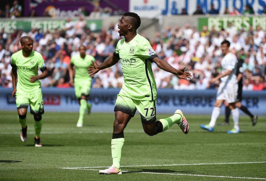 Kelechi Iheanacho, delantero del Manchester City