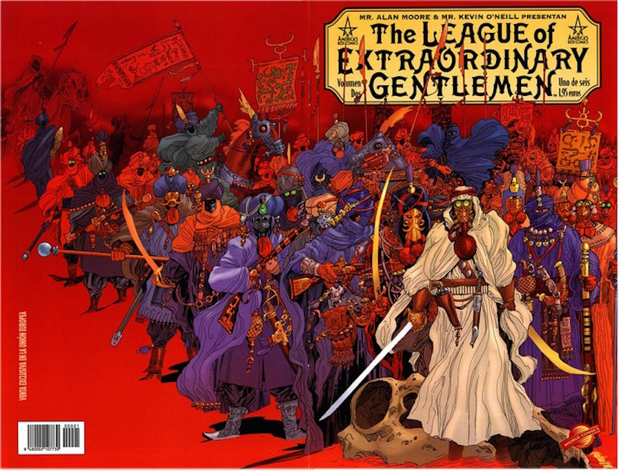 Alan Moore - The League of Extraordinary Gentlemen