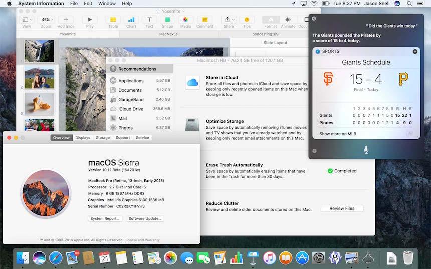 macOS Sierra 3