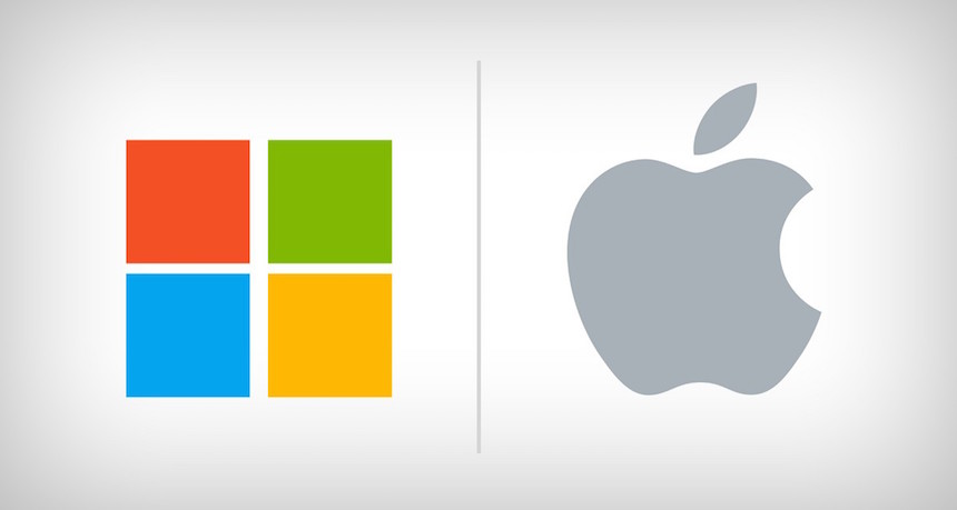 Microsoft y Apple