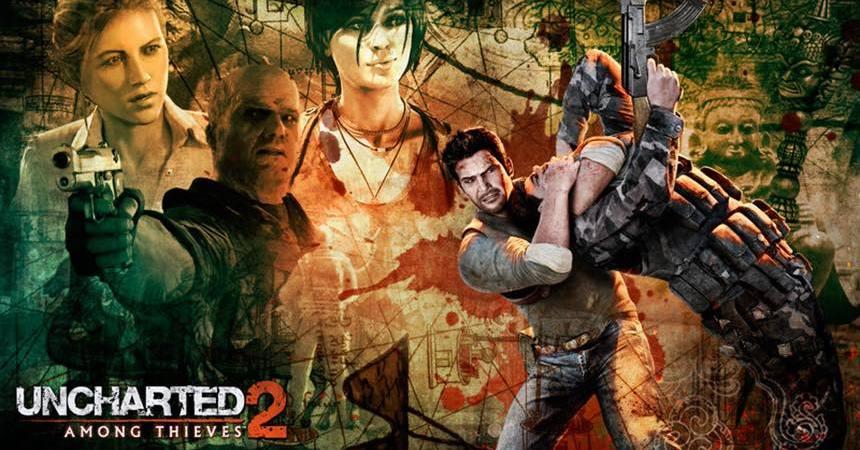 Nathan Drake Uncharted 2: Among Thieves