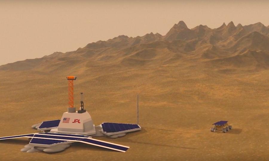 Sondas enviadas a Marte