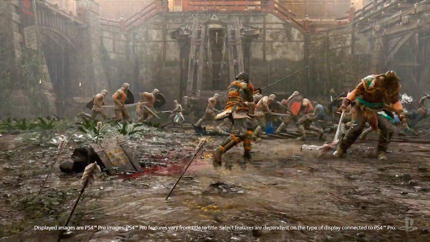 PlayStation Pro Capacidad For Honor
