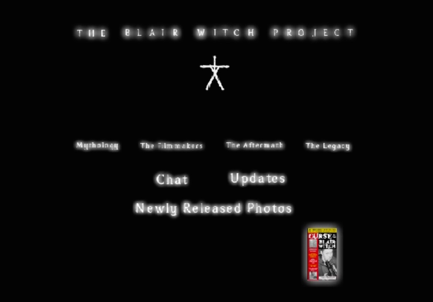 Proyecto de la Bruja de Blair Página