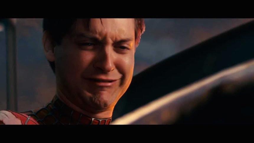spiderman-llorando