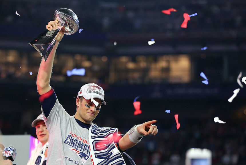 Tom Brady ha ganado cuatro Super Bowls