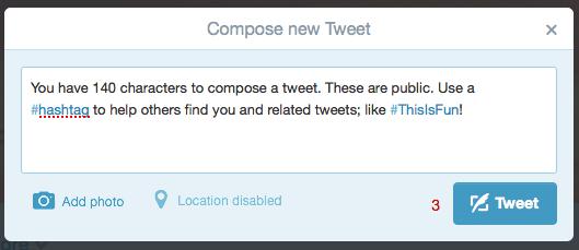 Twitter Caracteres