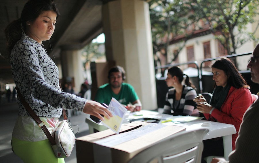 Colombia - Plebiscito - FARC - Votación