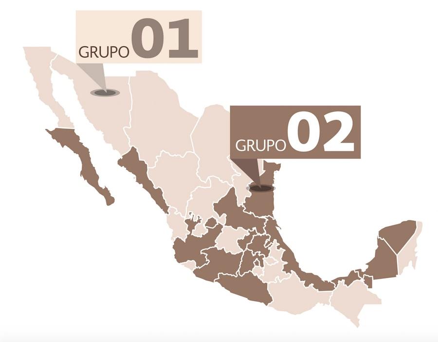Mapa - Grupos - 911 mexicano.