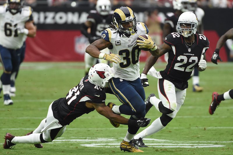 Los Angeles Rams versus Arizona Cardinals