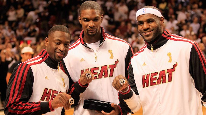 El Miami Heat gnaó dos títulos de la NBA