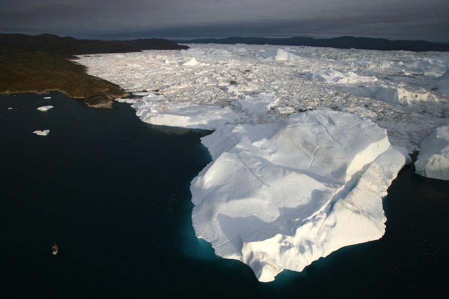Groenlandia está en peligro de deshielarse debido a profundas corrientes de agua caliente