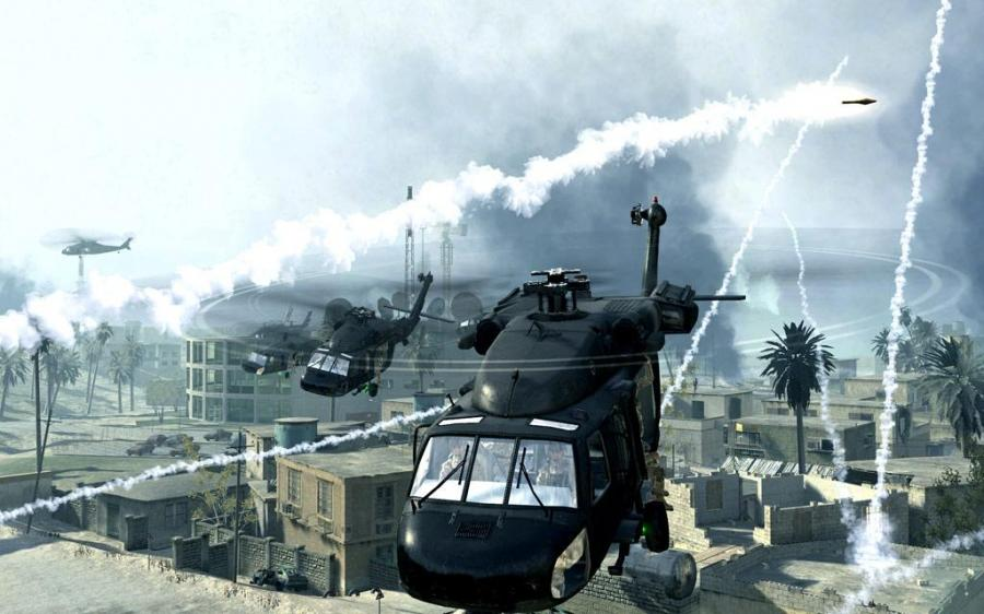 Call of Duty: Modern Warfare Ataque Aereo