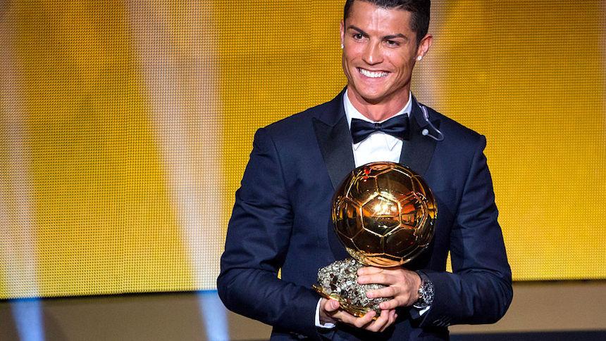 Cristiano Ronaldo espera repetir como el ganador del Balón de Oro