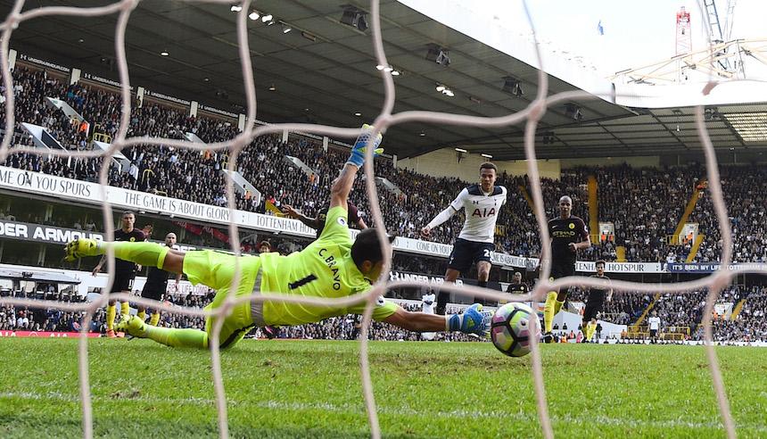 Del Alli marcó el segundo gol del Tottenham