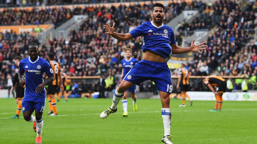 Diego Costa es uno de los mejores jugadores de la Premier