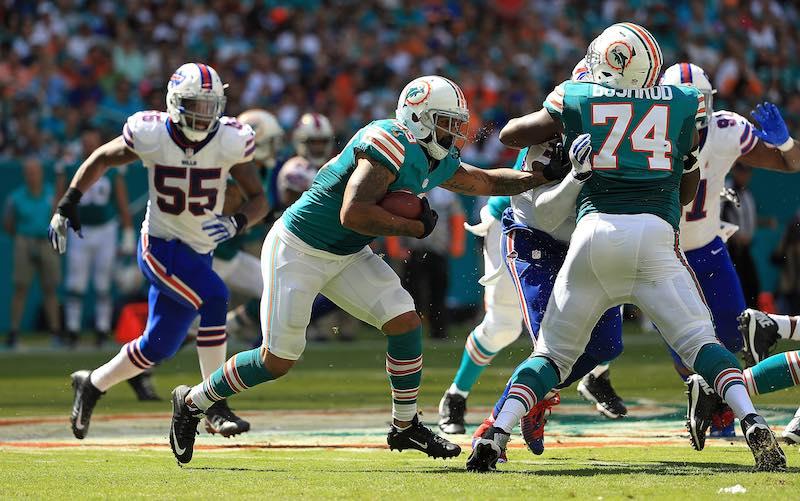 Miami Dolphins semana siete