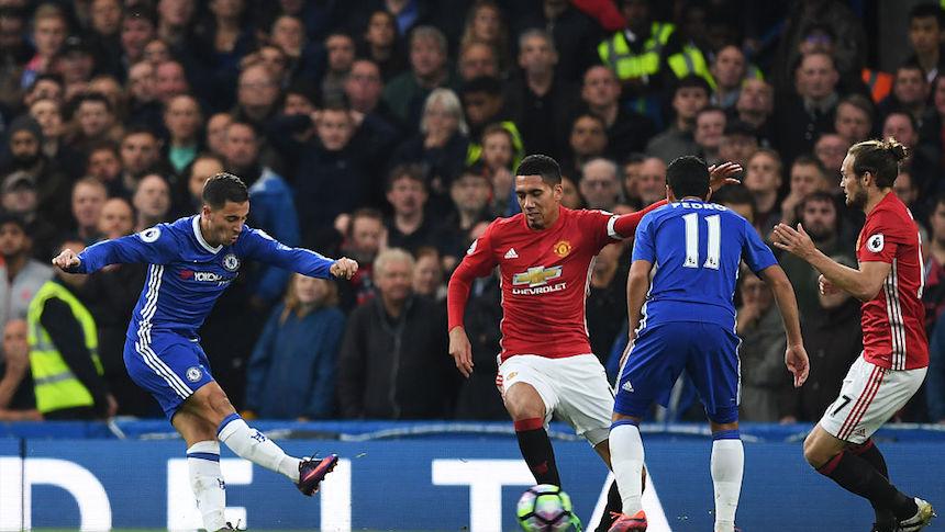 Eden Hazard marcó un golazo para poner las cosas 3-0