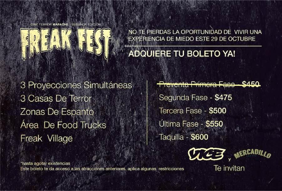 Cartel del Freak Fest