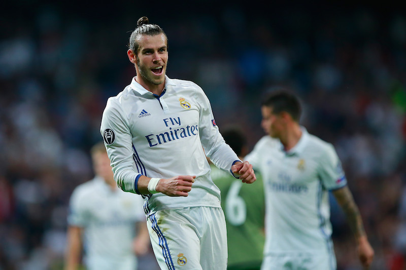 Gareth Bale con Madrid