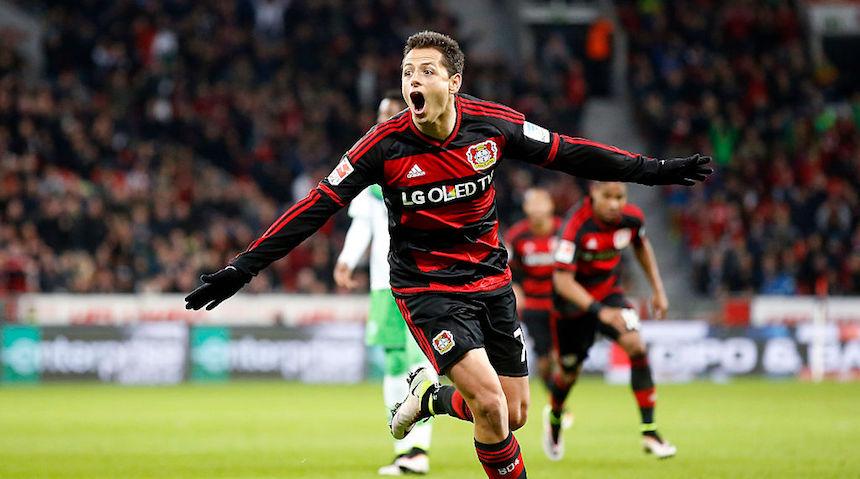 Javier Hernández es de los mejores goleadores en Alemania