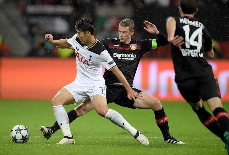 Heung-Min-Son Champions League