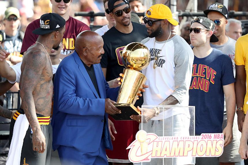 Jim Brown y LeBron James