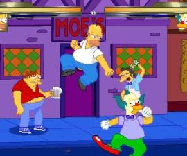 Los Simpson - Pelea