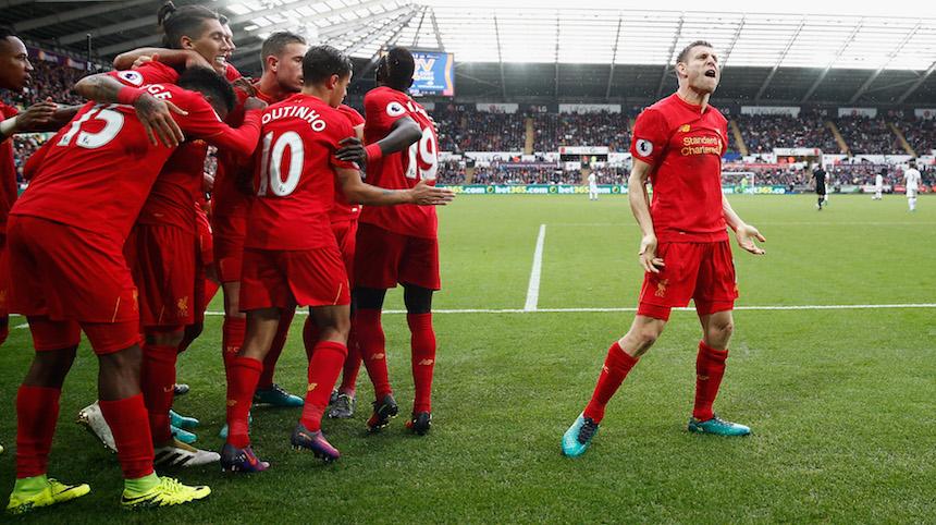 La ofensiva del Liverpool es de las mejores de la liga