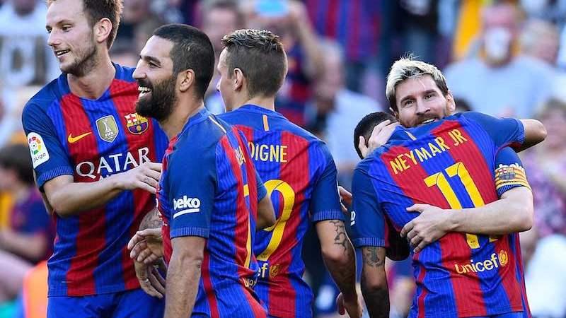 Messi regresa de lesión