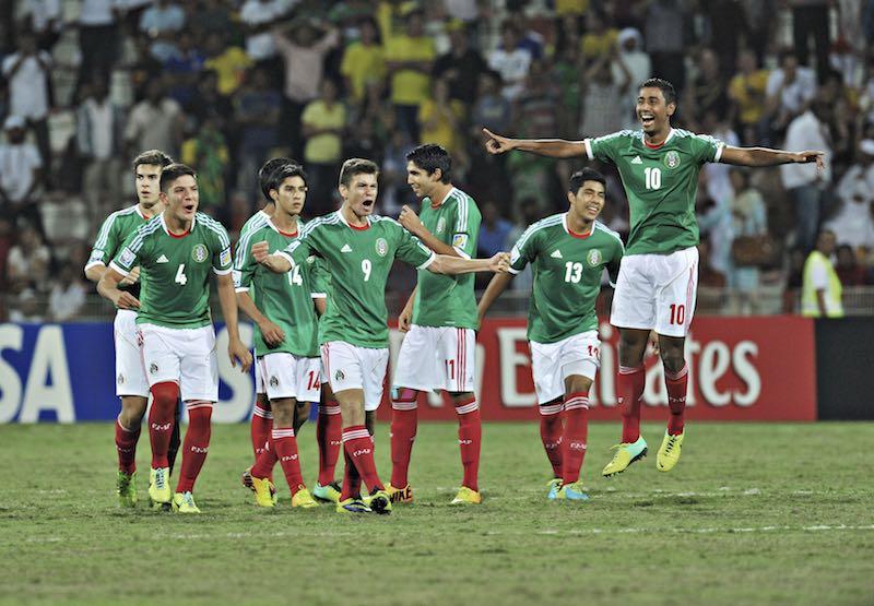 Mexico versus Brazil - U-17 World Cup UAE 2013