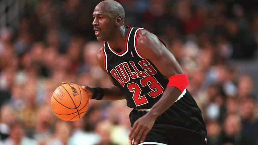 Jordan ganó 6 títulos con Chicago