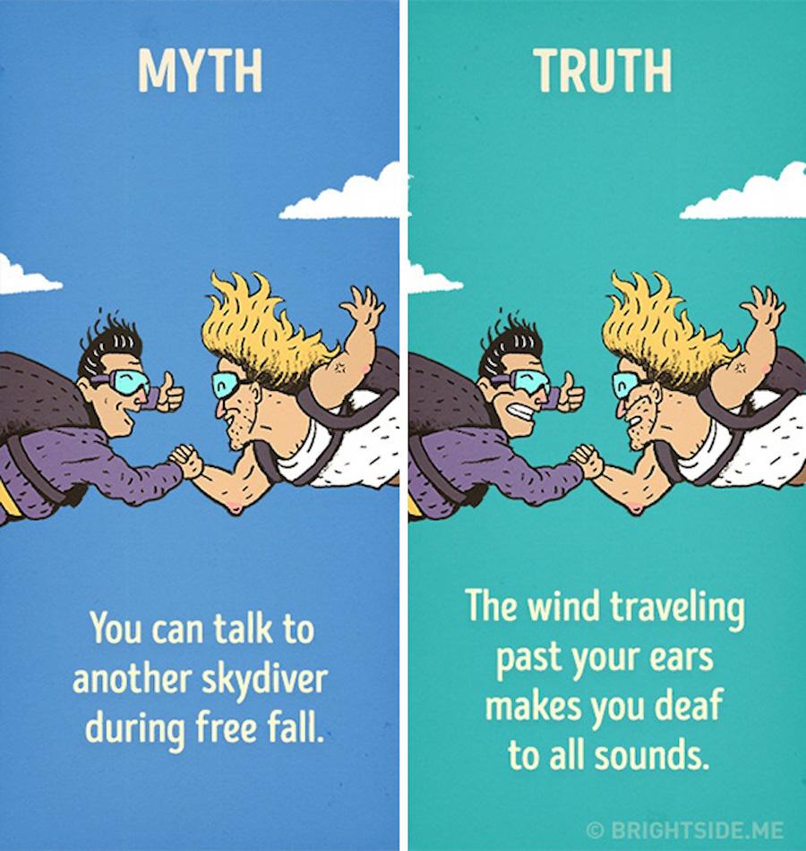 Mitos del cine - Paracaídas
