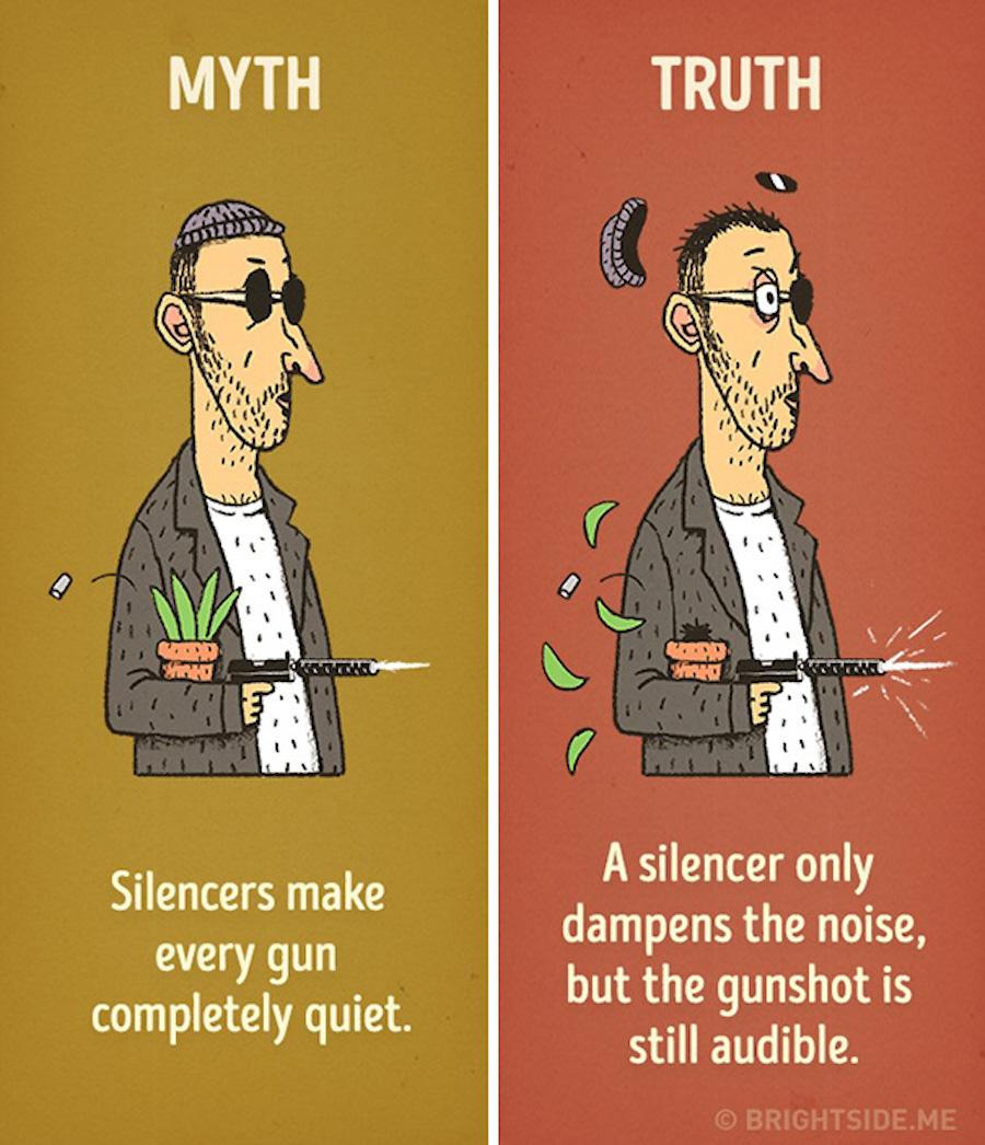 Mitos del cine - Silenciador