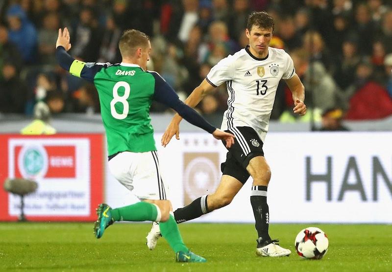 Thomas Muller contra Irlanda del Norte