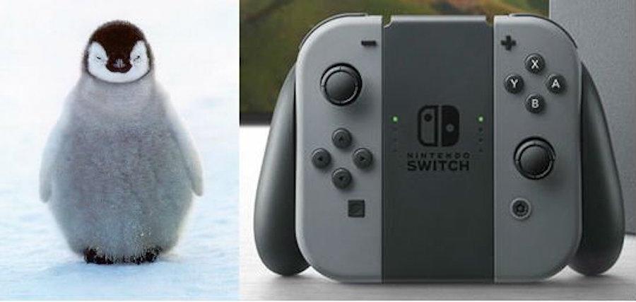 Nintendo Switch - Carita de perro