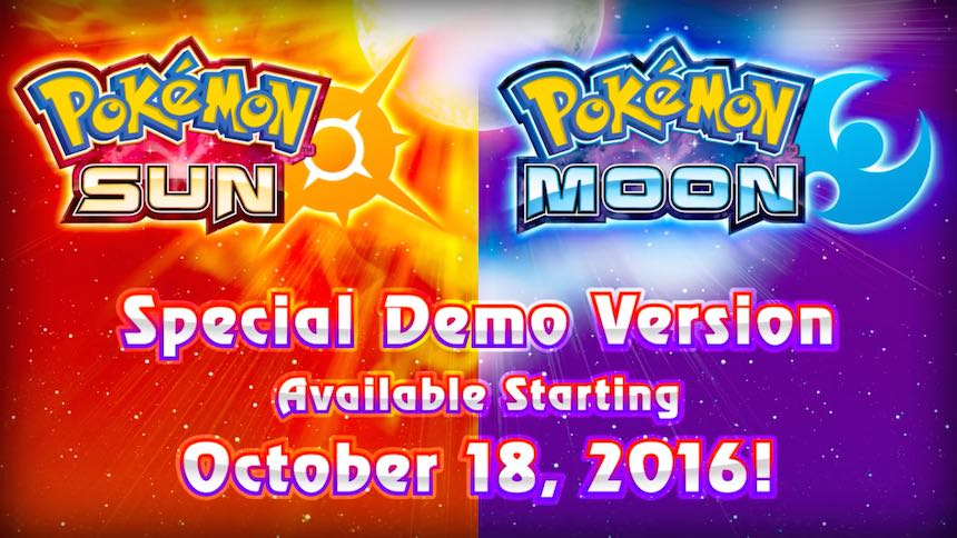 Pokémon Sun/Moon Demo